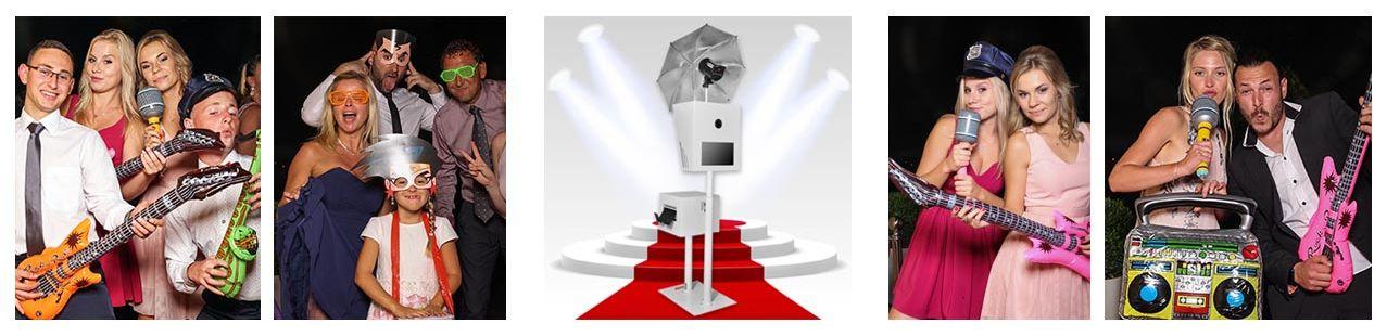 Fotobox für Geburtstage, Hochzeiten und Firmenevents