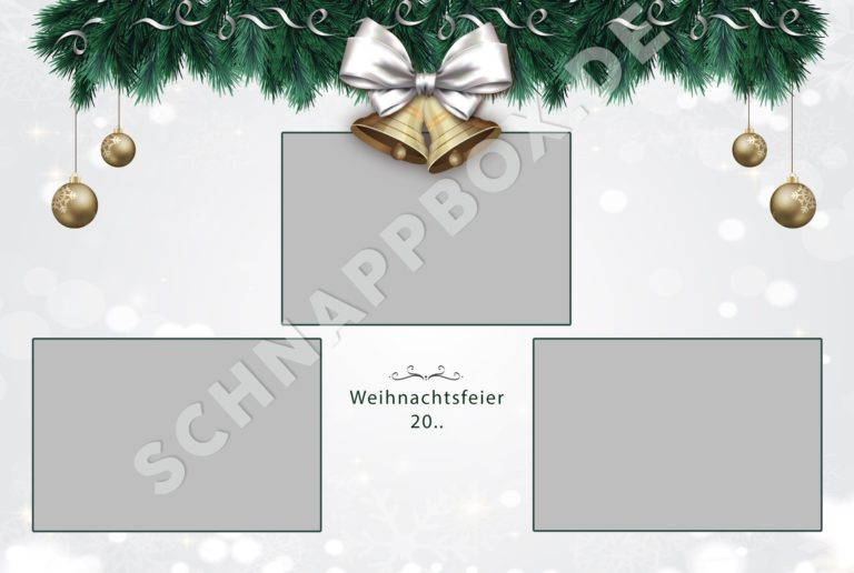 Layout Weihnachten Fotobox