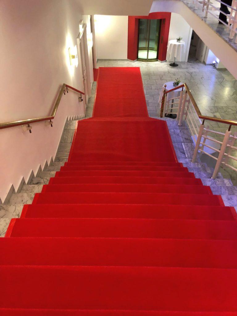 Roter Teppich Kaisersaal