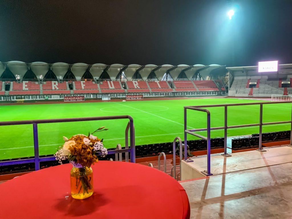 Tribüne Erfurt Stadion