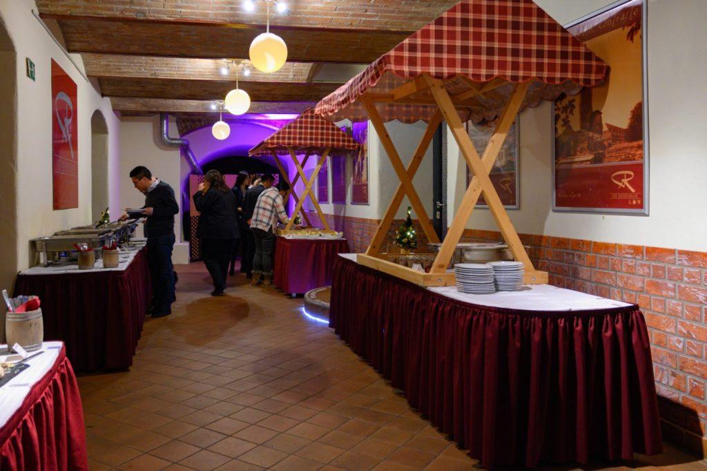 Buffet Hotelpark Arnstadt Weihnachtsfeier