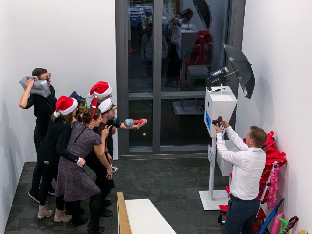 Fotobox Spaß Weihnachten