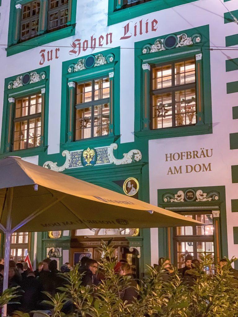 Hofbräu Weihnachtsfeier Erfurt