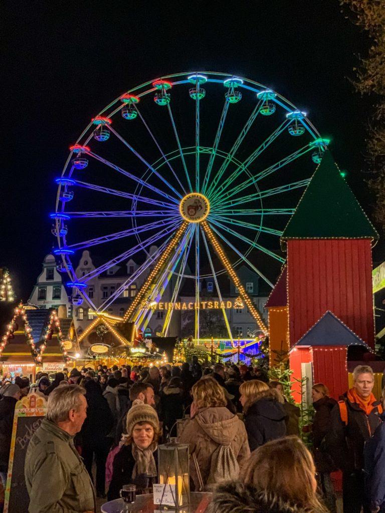 Riesenrad Weihnachten Erfurt