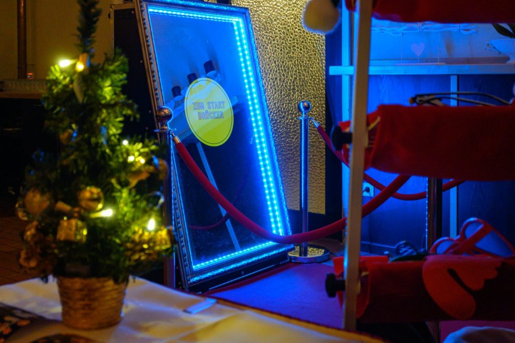 Weihnachtsfeier Fotobox Arnstadt