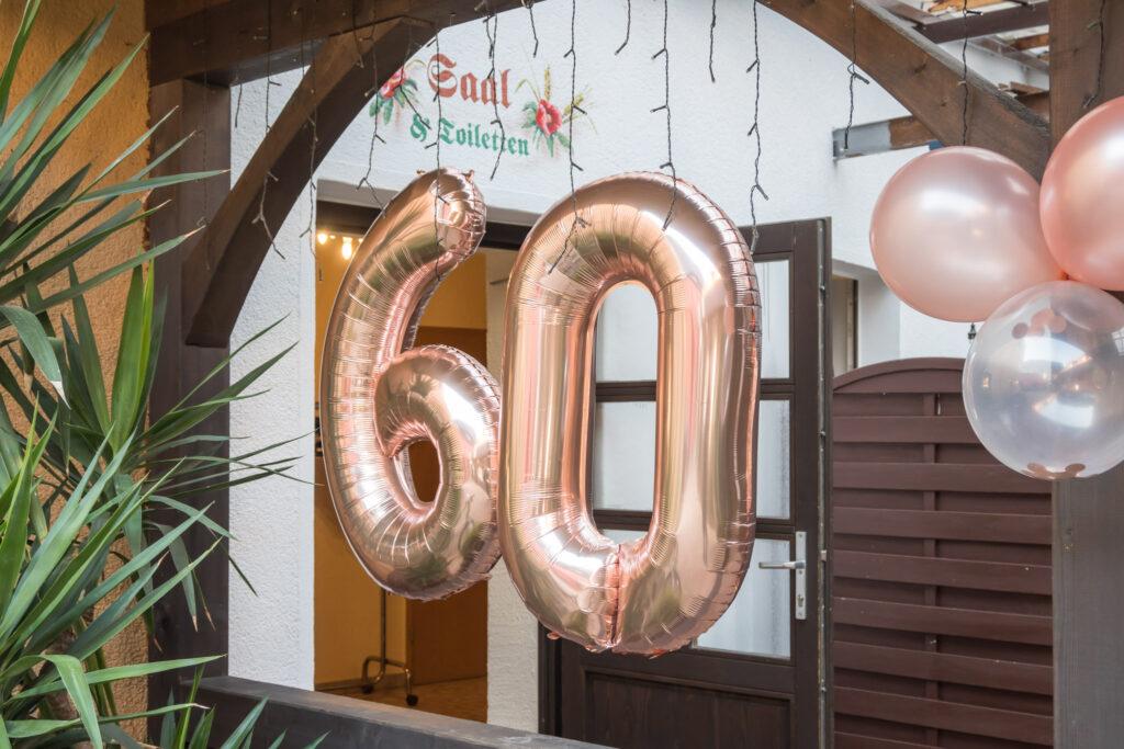 60 Geburtstag Fotobox
